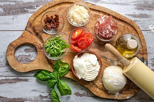 Alten rom im essen Essen Küche