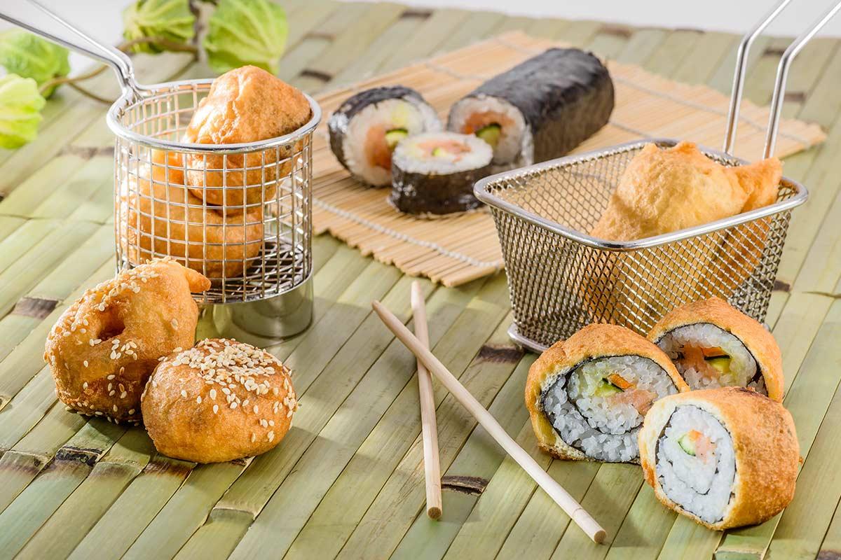Sushi Im Tempurateig Rezept